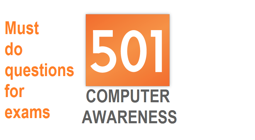 501 must do computer awareness questions