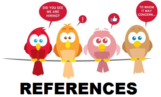 All about References and Referees - Cetking