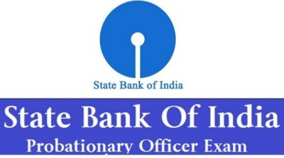 SBI PO Probationary officer exam