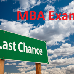 exams after mba
