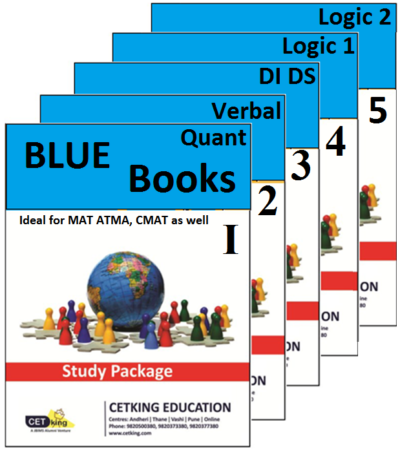 Blue phase CET books