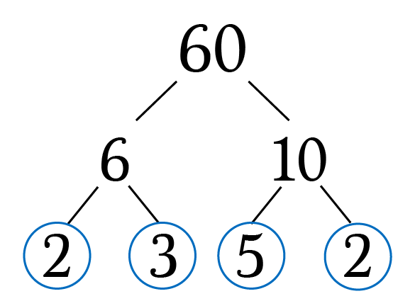 Prime factorization of 16 and 20 dating 8